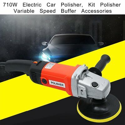 """710W 6"""" Electric Car Polisher Dual Action Eccentric Excentric Rotation Machine"""