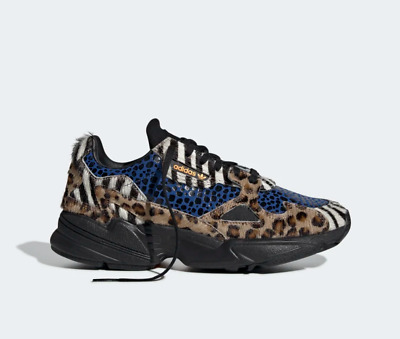 size 40 e2962 0f1d4 NEW Adidas Falcon Bae x Kylie Jenner Womens Trainers Gold Purple All Sizes  3.5-