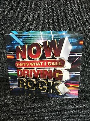 Various Artists-Now Thats What I Call Driving Rock CD NEW Sealed. Freepost In Uk