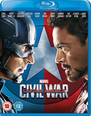 Marvel Captain America Civil War BLU-RAY NEW DISPATCH ALL BY 2 P.M.
