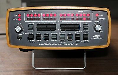 Systron Donner Microprocessor Analyzer Model 50