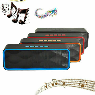 Portable Bluetooth Wireless Speaker Waterproof Power Bank Bass Subwoofer NFC New