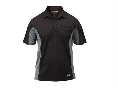 Apache Apadmpxl Dry Max Polo T-Shirt XL 48in)