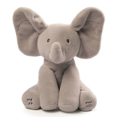 "Animated Flappy The Elephant, 12"" - Baby Gund Collection"