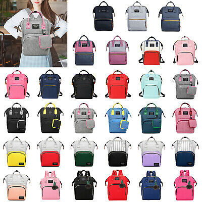 Diaper Bags Large Capacity Mummy Nursing Backpack Baby Handbag Tote Waterproof