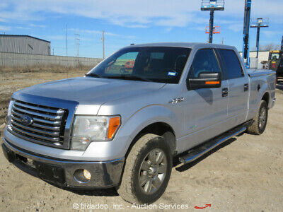 2012 Ford F150 XLT  2012 Ford F150 XLT Crew Cab Pickup Truck 3.5L V6  Eco Boost A/T Cold A/C Sync