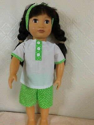 18 inch Doll Clothes to fit Design a Friend & Our generation. Summer Shorts Set