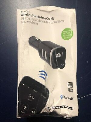 Scosche BTFM4-SP1 Handsfree Car Kit with FM Transmitter (5c)
