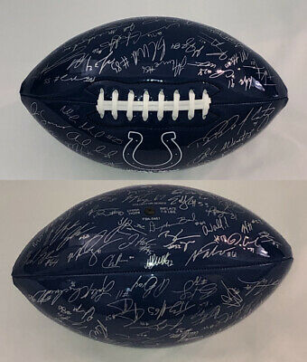 NFL Indianapolis Colts Team Signed Promotional Football - NEW