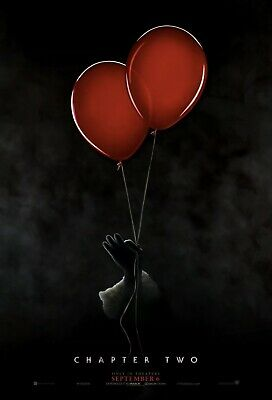 It Chapter 2 movie poster 27x40 DS - Stephen King (2019)