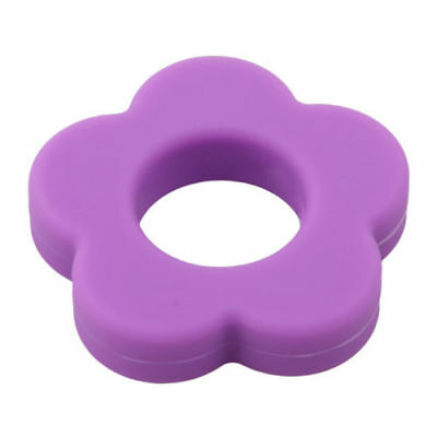 Baby Infant Teether Safety Toothbrush Silicone Dental Protect  Necklace Pendant