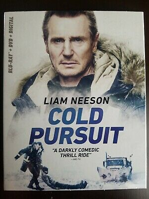 Cold Pursuit (Blu Ray + DVD + Digital) 2019 w/SLIP COVER! Sealed! FREE SHIPPING!