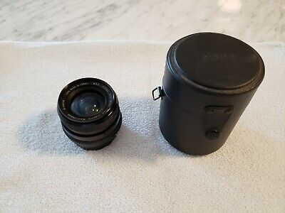 Sigma Mini Wide Lens 28 MM 1:2.8  440763 52 MM, with case