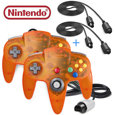 N64 Controller & N64 Extension Cable Gamepad Joystick for Nintendo 64 Console