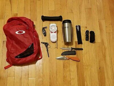 EDC Bag Bundle Oakley Cold Steel Survival Kit