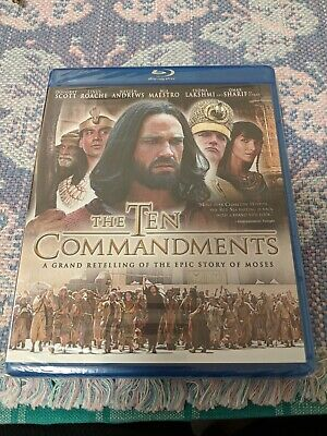 The Ten Commandments - The Complete Miniseries (DVD, 2006) BRAND NEW