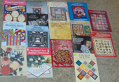 Quilting - Quilt Making - 17 - Books - Sun Bonnet, Americana, Holiday, World,