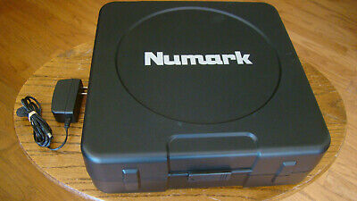 Numark PT-01 USB Portable Turntable w/ Built-in Speaker Tested Great Working