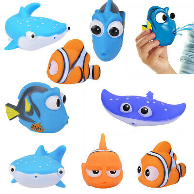 Baby Bath Fish Toy Floating Fun Water Tub Time Toddler Children Bathroom Play