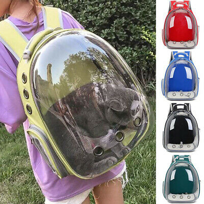 Capsules Space Carrier Backpack Porte-bulles pour chat et chat