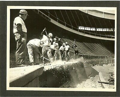 The Polo Grounds New York Giants  Mets  Titans  Jets - Demolition Begins!