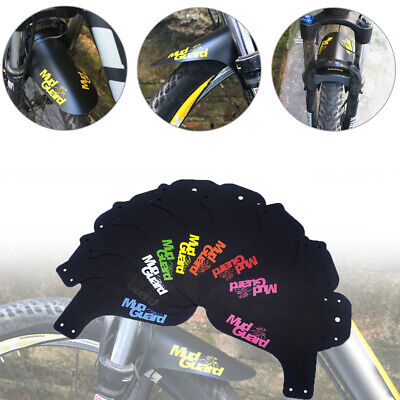 Durable Bicycle Fender Colorful Front/Rear Bike Mud Guard MTB Bike Accessories