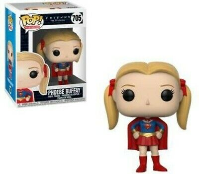 Friends - Phoebe as Supergirl - Funko Pop! Television (2018, Toy NUEVO)