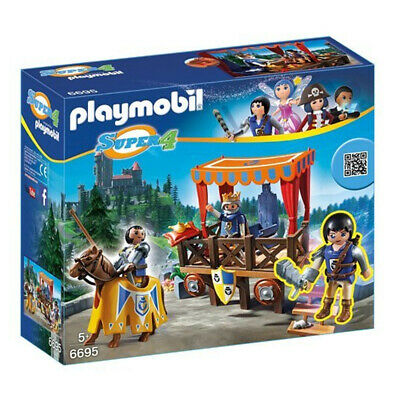 Nuevo Playmobil Super 4 Royal Tribune con Alex