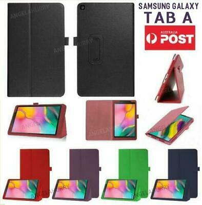 "Samsung Galaxy Tab A 10.1"" 2019 SM-T510 T515 Smart Leather Case Cover 2019 Model"