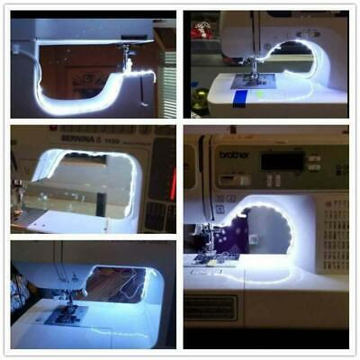 For Sewing Machine Bright Light Strip LED Lamp with Touch Dimmer USB Powered NEW
