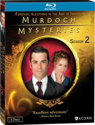 MURDOCH MYSTERIES: SEASON 2 (Region A BluRay,US Import,sealed.)