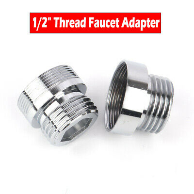 Faucet Aerator Adapter Tap Fitting Connector 20, 22, 24mm Male & Female Thread