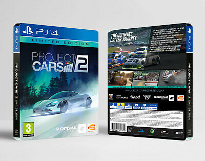 Project Cars 2 PS4 NEW Limited Edition, Steelbook, Japanese Car DLC, VIP Pass +