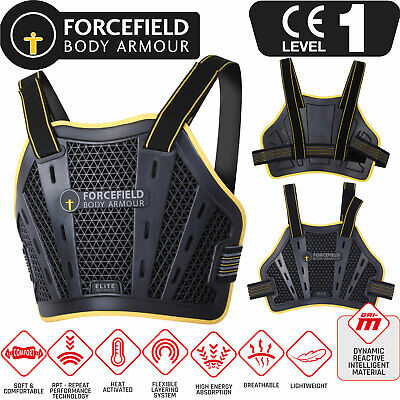 FORCEFIELD ELITE CHEST PROTECTOR Bustpanzer Brust Protektor NitrexEvo CE-Level 1