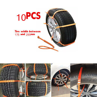 Car Accessories Vehicles Thickened Beef Tendon Ice snow  Antiskid Chain Tyre