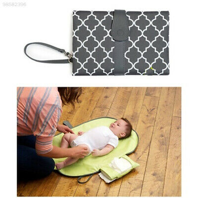 E447 Foldable Nappy Diaper Changing Mat Baby Portable Folding Pad Waterproof Bag