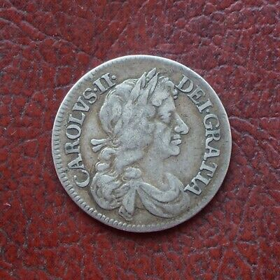 Charles II 1670 silver maundy fourpence