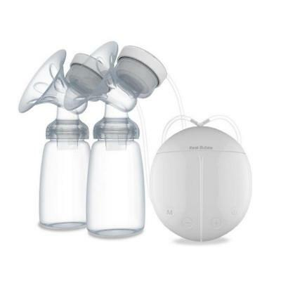 Hot!Mother's Love Real Bubee Auto Double USB Electric Breast Pump with Milk Y