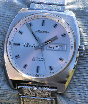 Watch Felca Daydate Space Star 2000 Automatic 1969 in Excellent Condition