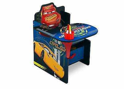 Disney Cars Chair Desk With Storage Bin, Unique All In One Chair And Desk