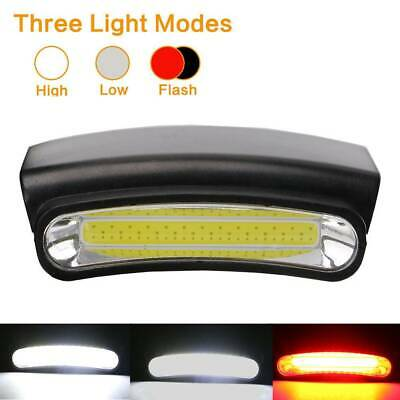 3-Mode LED Hiking Camping Torches Hat Lamp Clip-on Cap Light Outdoor Headlamp