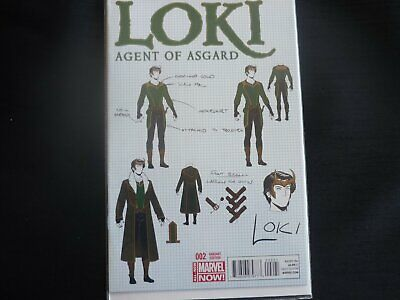 Loki Agent of Asgard 2 Variant (b18) MArvel NM