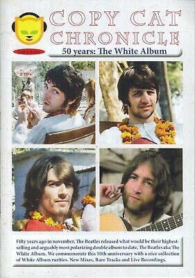 Beatles / 50 Years The White Album / 2CD Booksize / Copy Cat Chronicle