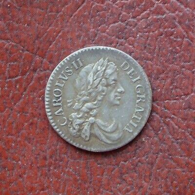 Charles II 1672/1 silver maundy twopence