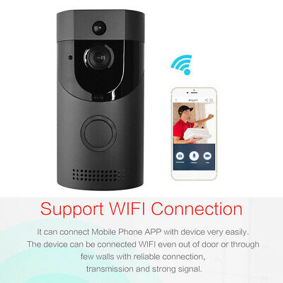Wireless Smart WiFi Ring Doorbell HD Video Camera Phone Intercom Home Security