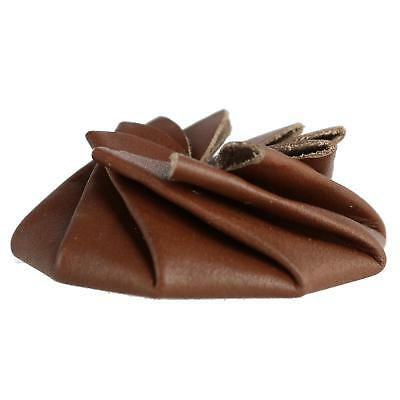 New CTM Leather Squeeze Coin Pouch