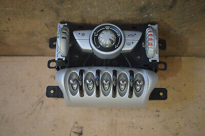 BMW Mini Cooper One S R56 Center Heater Windows Lights Buttons Levers