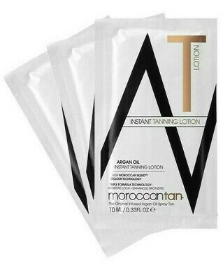MoroccanTan MOROCCAN Argan Oil Instant Tanning Lotion 10ml Sample Sachet