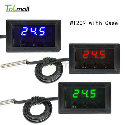 Digital 12V Thermostat W1209 Temperature Controller Switch Sensor+Case -50~110°C
