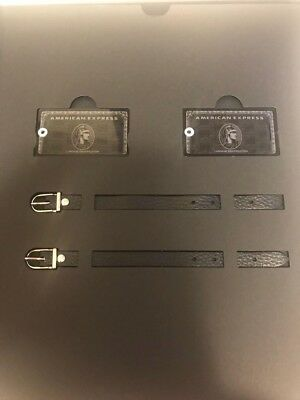 New American Express Centurion Black card holders limited baggage tag in box